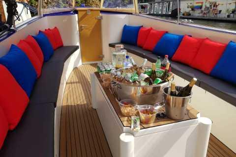 Amsterdam: Private Canal Booze Cruise