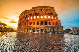 Kolosseum: Tour ohne Anstehen mit Untergeschoss-Kammern