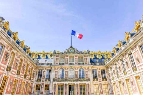 Versailles & Gardens by Train