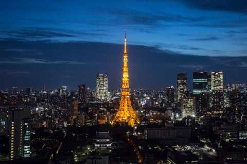 Tokyo Tower: Admission Ticket