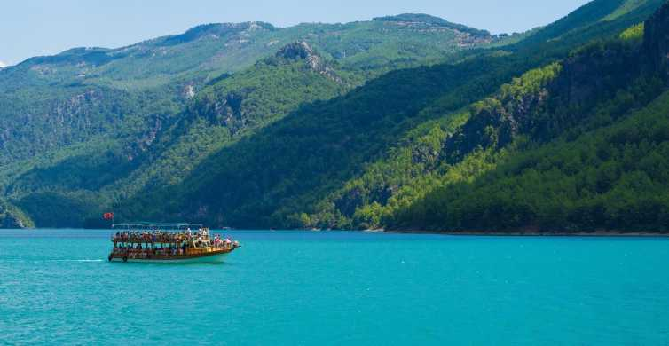 Ab Alanya: Green Canyon - Bootstour mit Buffet-Mittagessen
