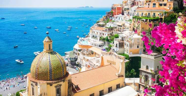 De Nápoles: Excursão à Costa Amalfitana com Tudo Incluso