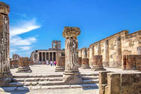 Pompeje: bilet wstępu priorytetowego i audioprzewodnik