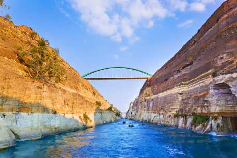 From Nafplion: Mycenae, Corinth Canal and Epidavros Day Tour