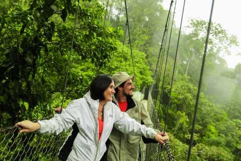From La Fortuna: Guided Naturalist Walk on Hanging Bridges