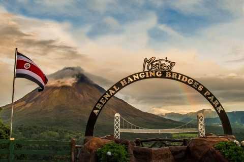 La Fortuna Waterfall, Volcano and Hanging Bridges Combo
