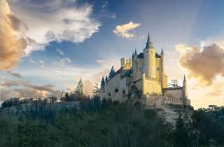 Ab Madrid: Tagesausflug nach Avila und Segovia