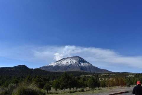 From Puebla: Iztaccihuatl and Popocatepetl Volcanoes Hike