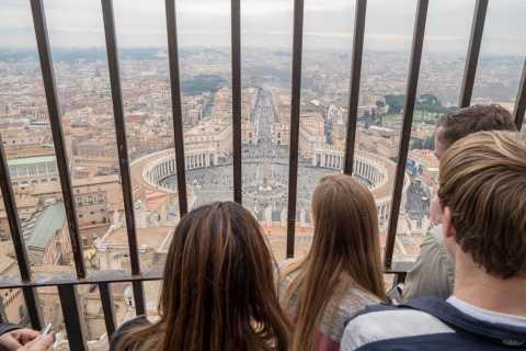 Рим: экскурсия по базилике Святого Петра и восхождение на купол