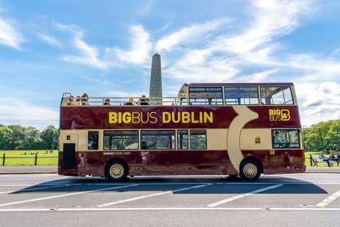 Dublino: tour in autobus con piano panoramico