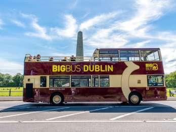 Dublin: Sightseeing-Tour mit dem Open-Top-Hop-On/Hop-Off-Bus