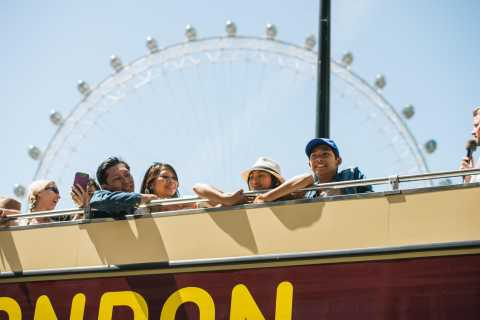 London Eye & Big Bus Hop-on Hop-off with River Cruise