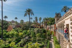 Real Alcázar de Sevilha: Tour Guiado com Entrada Prioritária