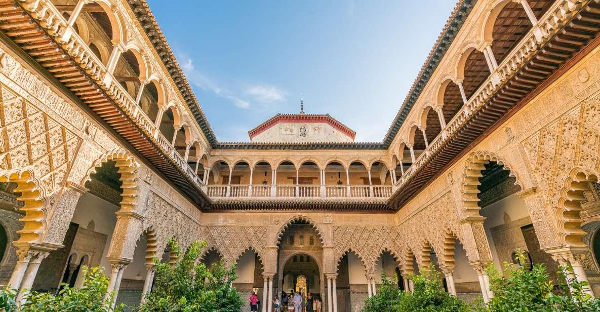 Sevillas palads: Guidet rundvisning med prioritetsentré
