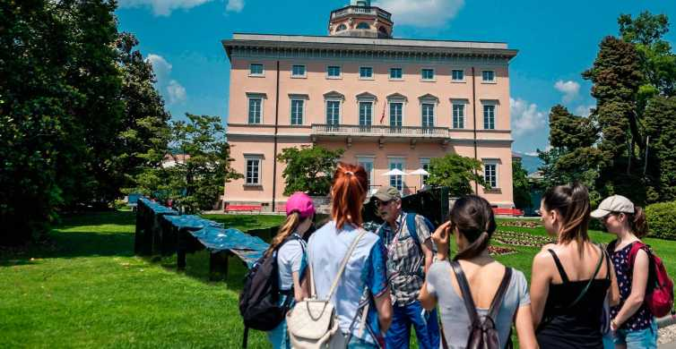 Lugano: Guided Walking Tour to Gandria with Boat Cruise