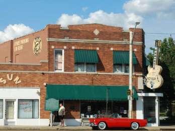 Memphis: Big Mojo Sun Studio + 3-stündige Bustour zur Musikgeschichte