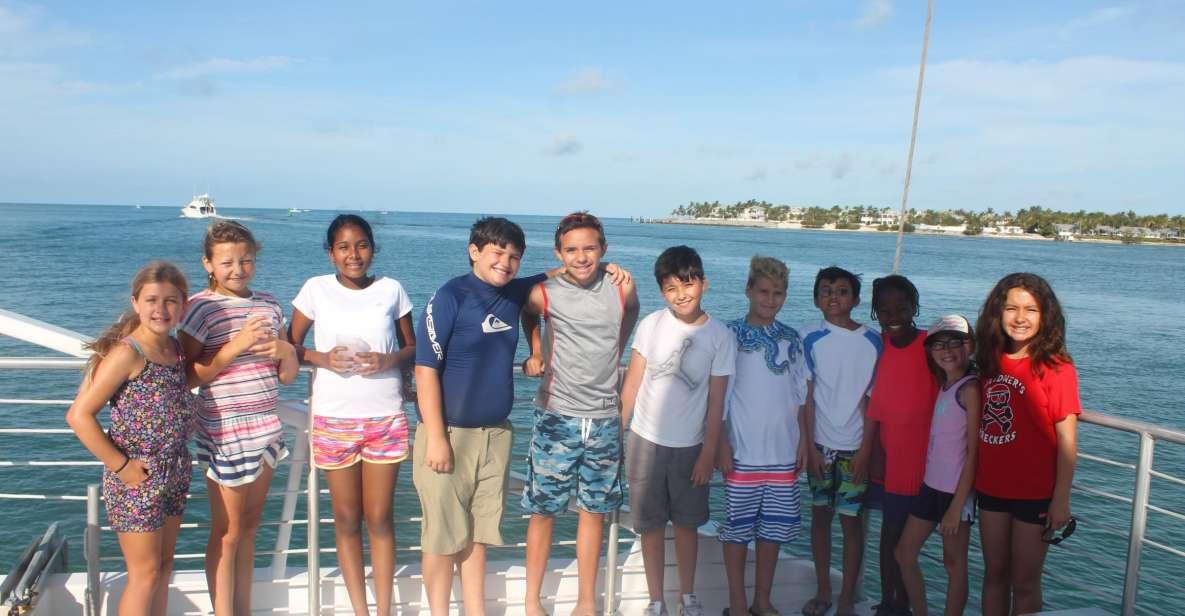 Key West: Sunset Snorkel Sail Trip con barra libre