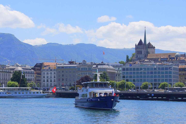 Genf: Bootsfahrt auf dem Genfer See