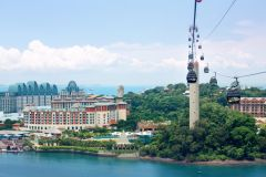 Singapura: Bilhete Sky Pass para o Teleférico Sentosa