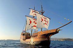 Dubrovnik: Passeios de Barco Ilhas Elafiti, Snorkel e Almoço