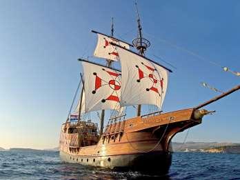 Dubrovnik: Elaphiten-Bootstour mit Schnorcheln & Mittag