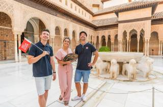 Alhambra: Ticket & Führung durch die Burg & Nasridenpaläste