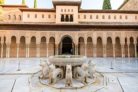 Granada: Geführte Tour Alhambra und Nasridenpaläste