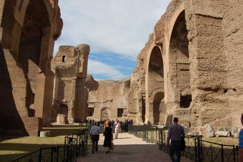 Rome: Circus Maximus, Caracalla Bath, and Aventine Hill