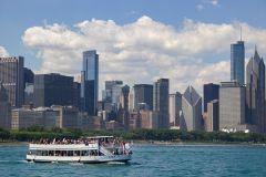 Chicago: cruzeiro de arquitetura de 1,5 horas pelo lago e rio