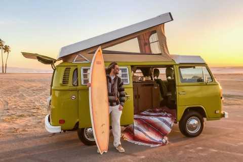 Malibu Beach: Surfkurs und Vintage-Tour im VW-Bus