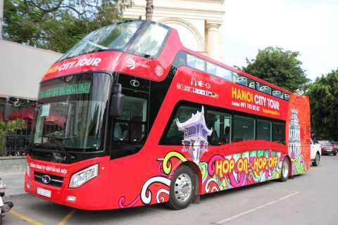 Hanoi: 1.5-Hour Hop-On Hop-Off City Bus Tour By Night