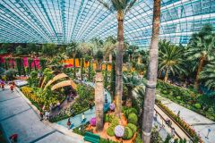 Singapura: Jardins da Baía e Observatório Skypark