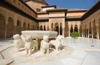 Granada: Führung Alhambra, Gärten und Alcazaba