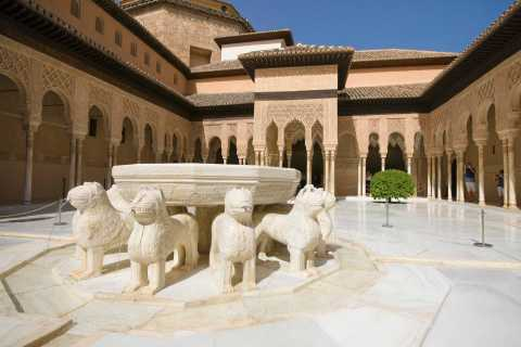 Granada: Alhambra, Gardens and Alcazaba Guided Tour