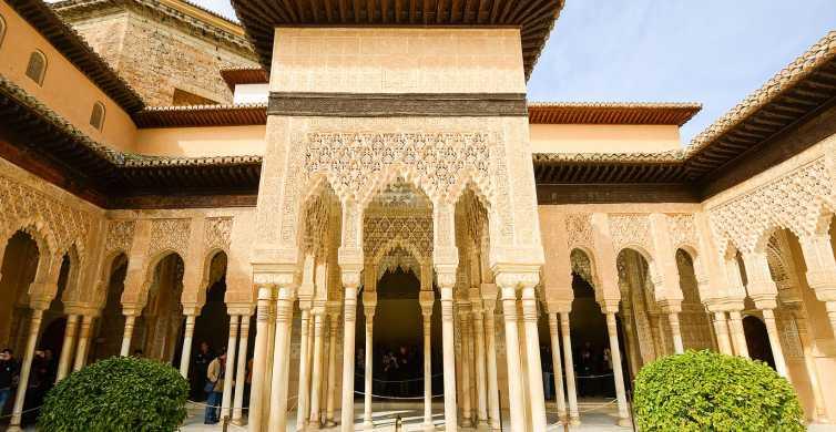 Alhambra, Nasridpalatsen och Generalife: tre timmars rundtur
