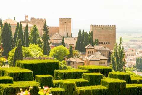 Alhambra y jardines del Generalife: tour con acceso rápido