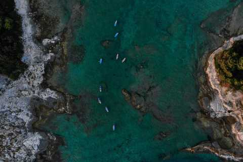 Pula: 2-Hour Adventure Island Stand Up Paddle Tour