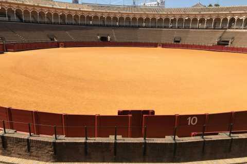 Sevilha: Praça de Touros e Catedral com Giralda