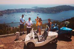 De Nice: passeio panorâmico de 2 horas em veículo de 3 rodas