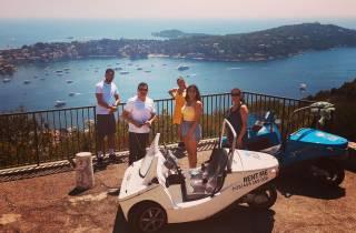 Ab Nizza: 2 Stunden malerische Fahrt im Threewheeler