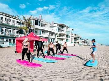 Venice Beach: Surfstunde für Gruppen