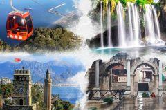 Cachoeiras de Antalya e Old City Tour