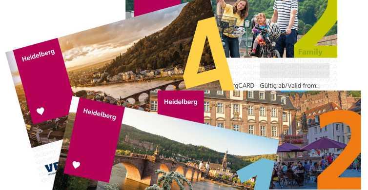 HeidelbergCARD für 1, 2, 4 Tage inklusive Schlüsselband