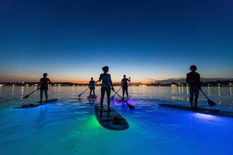Pula: Night LED Stand-Up Paddle Board Tour