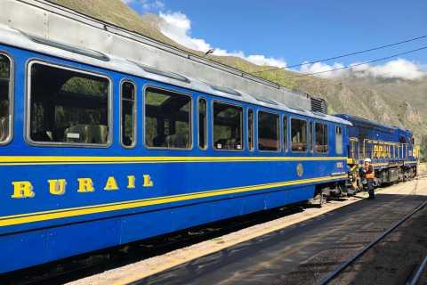 Machu Picchu: Vistadome Train Round-trip Ticket
