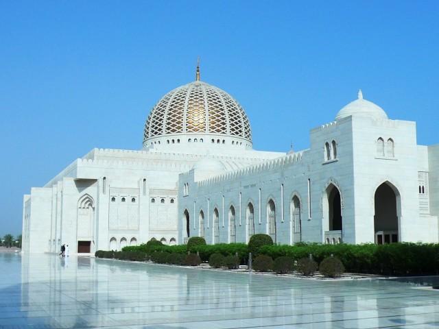 Muscat: halve dag stadstour en bezoek aan de grote moskee
