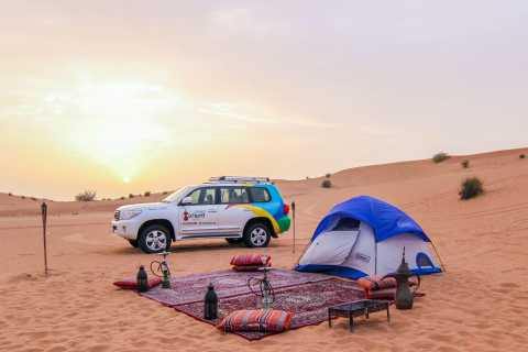 Overnight Dubai Desert Safari with BBQ Dinner