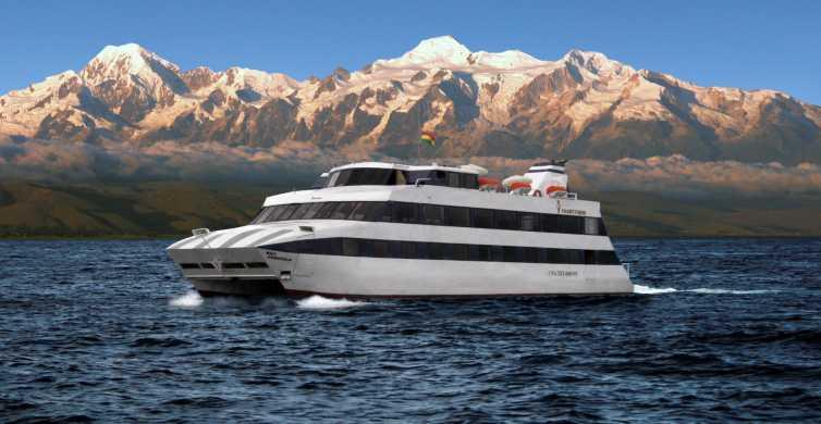 La Paz: cruzeiro de catamarã no lago Titicaca
