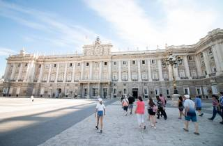 Königspalast von Madrid: Führung ohne Anstehen