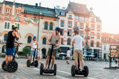 Excursão turística de 3 horas em Varsóvia de Segway